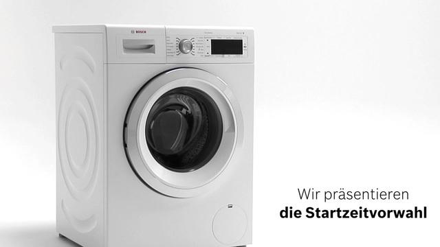 Bosch - Was ist die Startzeitvorwahl? Video 6