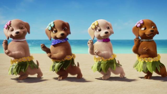 Barbie und ihre Schwestern in: Die grosse Hundesuche Video 3