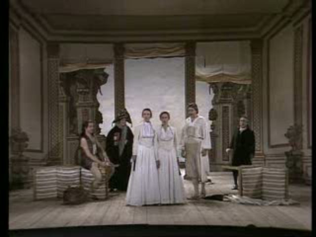 W.A. Mozart - Cosi Fan Tutte (Drottningholm Court Theatre, 1984) Video 3