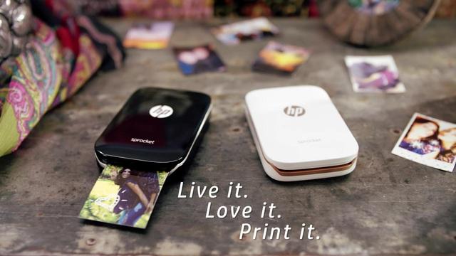 HP - Sprocket Fotodrucker Video 3