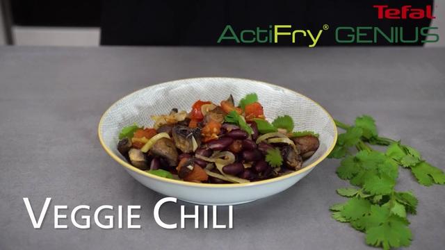 Tefal - ActiFry Genius - Veggie Chili Video 3