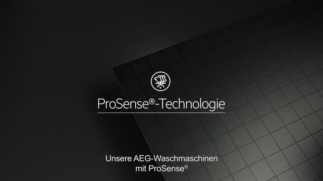 AEG - ProSense Technologie - Doppelt effektive Pflege Video 7