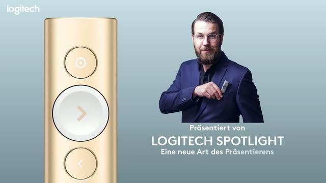 Logitech - Spotlight Kabelloses Präsentationsgerät Video 16