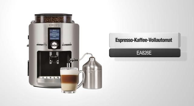 Krups - EA826E Espresso Kaffee Vollautomat Video 3