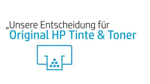 HP - 3 Faktoren für Original HP Tinte & Toner Video 2