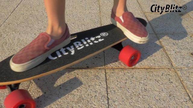 CityBlitz - CB013 e-Skateboard Video 3