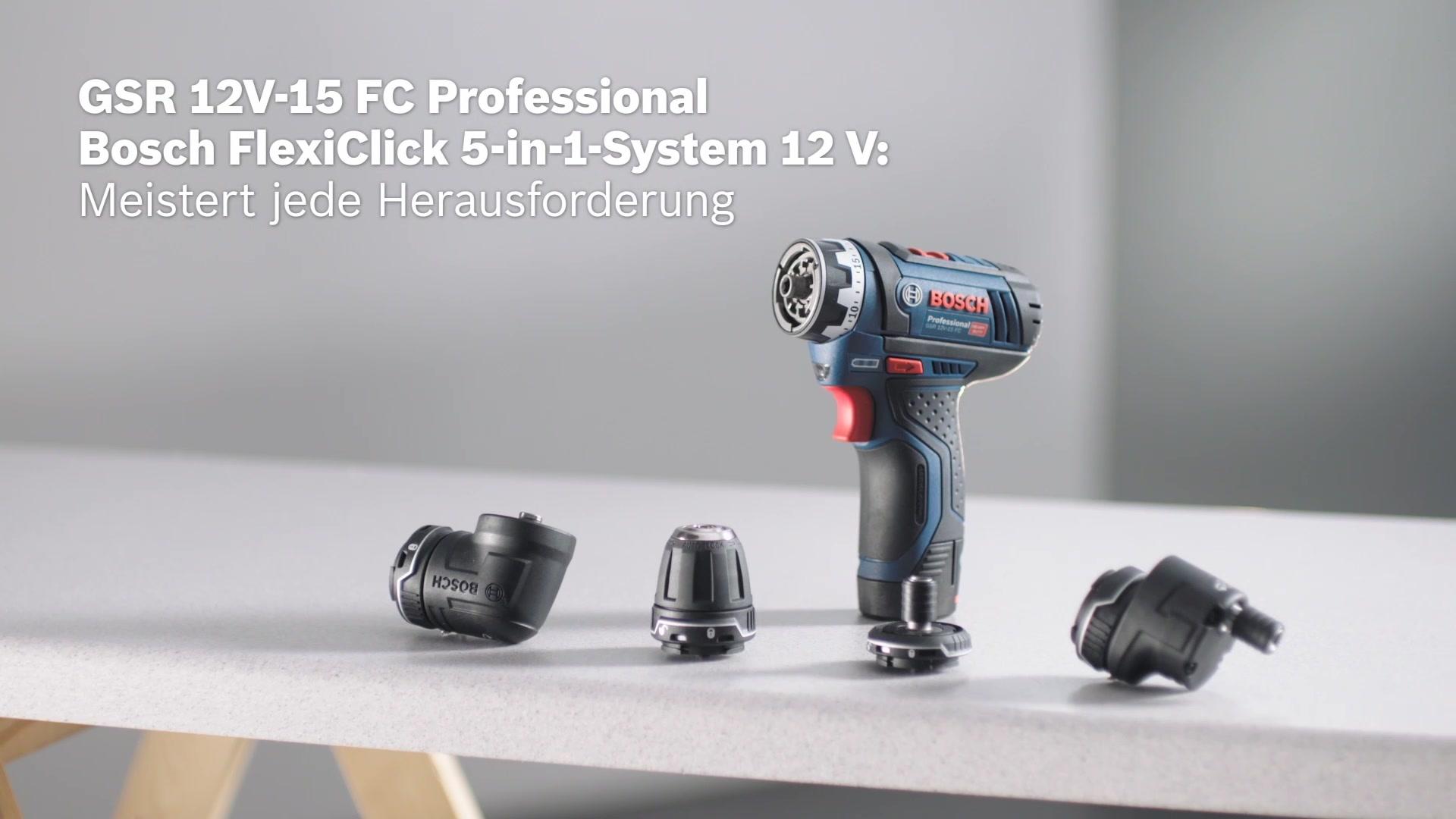 Gsr 12v 15 Fc Akku Bohrschrauber Bosch Professional