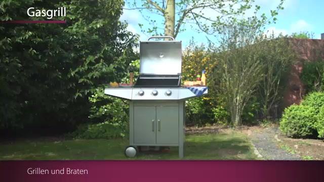 Clatronic - Profi Cook PC-GG 1057 Gasgrill Video 3