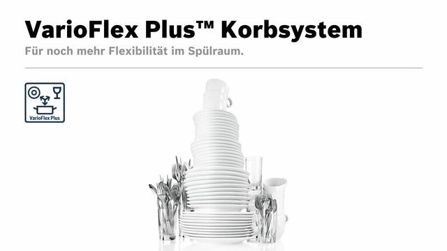 Bosch - VarioFlex Plus Korbsystem Video 10