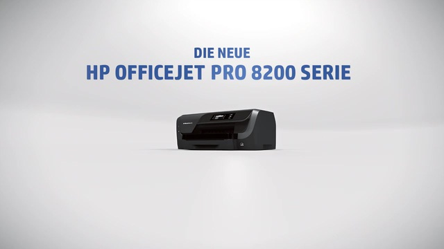 HP - Officejet Pro 8200 Serie Video 3