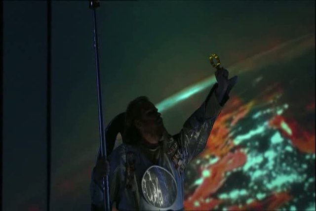 Wagner - Das Rheingold (staged by La Fura dels Baus) Video 3