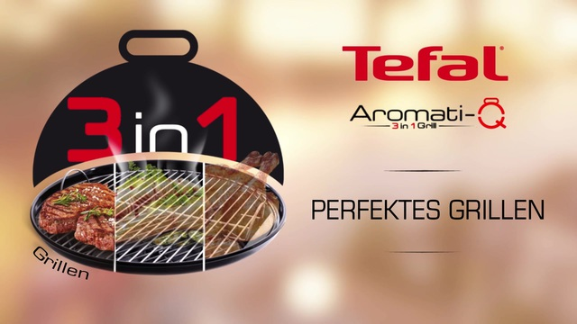 Tefal - Aromati-Q 3in1 Tischgrill (Grillen) Video 14