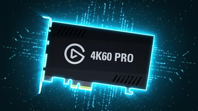 Elgato - Game Capture 4K60 Pro Game Recorder PCIe  Video 3