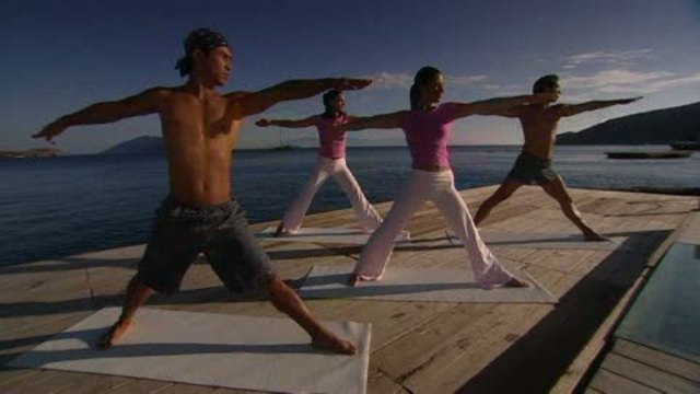 Fit For Fun - Intensive Yoga - mit Johanna Fellner und Young-Ho Kim Video 3