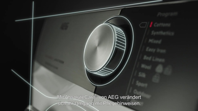 AEG - AbsoluteCare-System - Feine Bluse Video 9