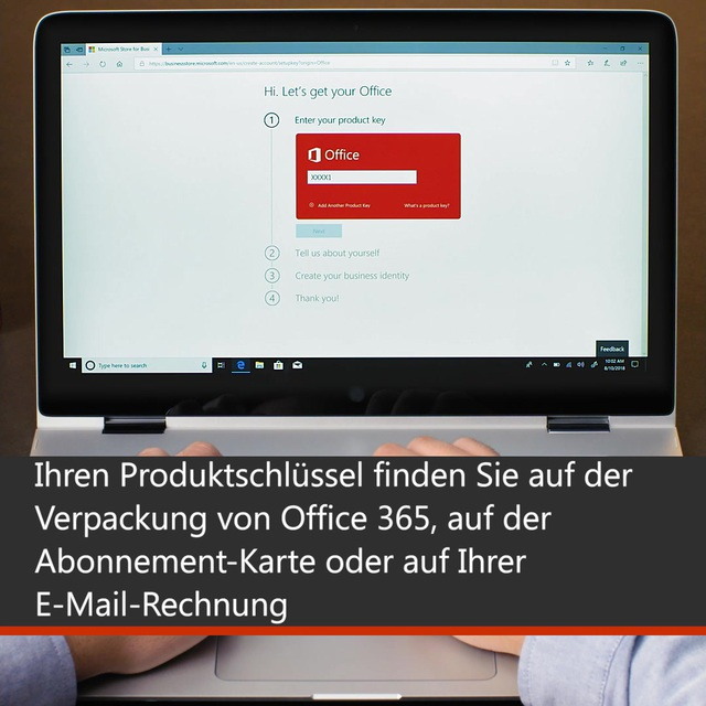 03_Activation Office 365 Business Premium_DE Video 3