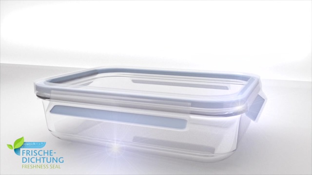Emsa - Clip & Close Glas Frischhaltedosen Video 3