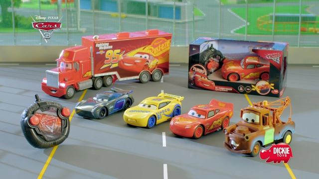 Disney Cars 3 Turbo Racer from Dickie Toys Video 7