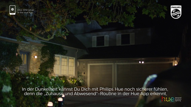 """Philips - Hue - """"zuhause & abwesend""""-Routine Video 9"""