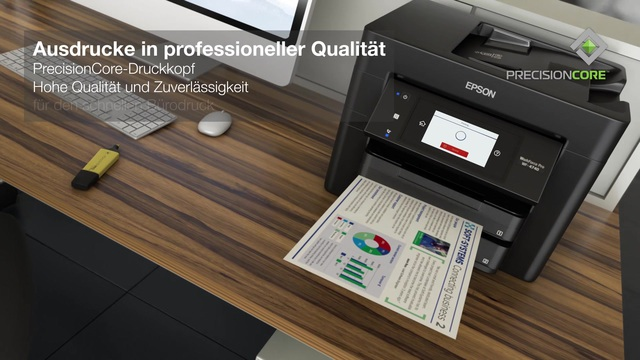Epson - WorkForce Pro WF-4740DTWF Video 3