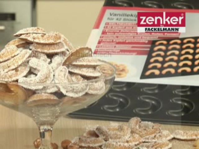 Zenker - Vanillekipferl-Backblech Video 3