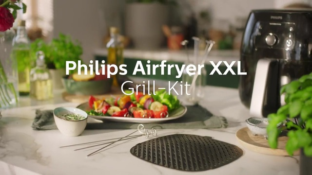 HD9951_Philips_airfryer_xxl-accessoires_grill_master_kit_DE Video 3