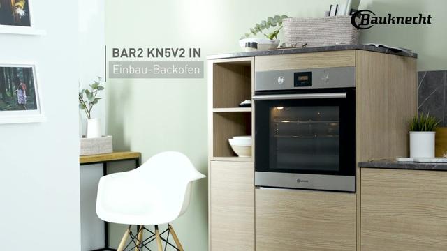 Bauknecht - BAR2 KN5V2 IN Einbau-Backofen Video 2