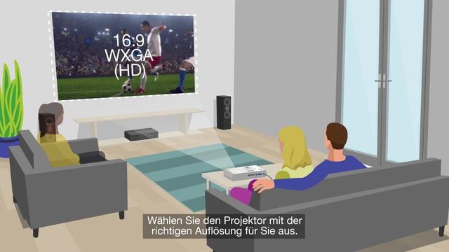 Epson - Beamer - Gestochen scharfe Projektionen für jedes Budget Video 10
