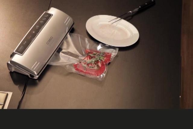 Caso - Vakuumierer VC10 Video 3