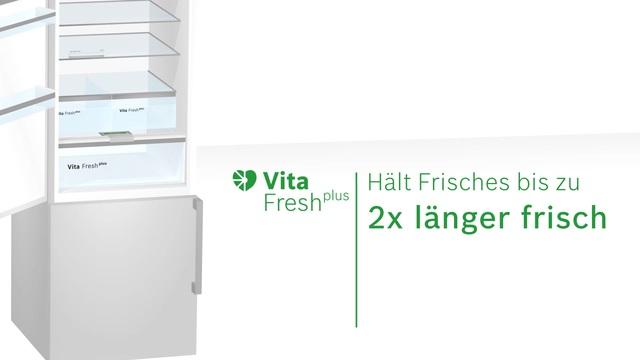 Bosch - VitaFresh plus - Das komfortable Frischesystem Video 3