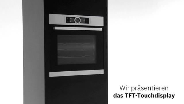 Bosch - TFT-Touchdisplay der Bosch Serie 8 Video 10