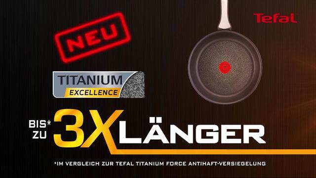 Tefal - Pfannen - Titanium Excellence Video 7