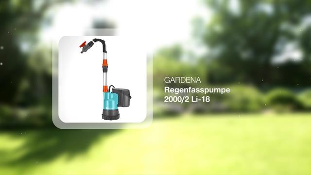 Universal Rain Water Tank Pump 2000/2 Li-18 Video 3