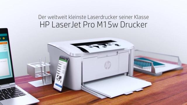 HP - LaserJet Pro M15w Video 3