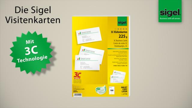 Sigel Visitenkarten Lp850 Bei Otto Office Günstig Kaufen