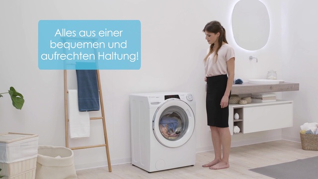 Candy - Rapid'O Waschmaschine Video 6