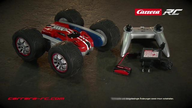 Carrera RC - Turnator Flipover Stuntcar Video 16