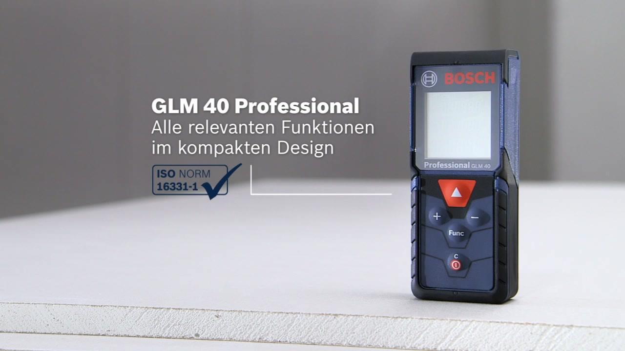 Laser Entfernungsmesser Iso : Glm laser entfernungsmesser bosch professional