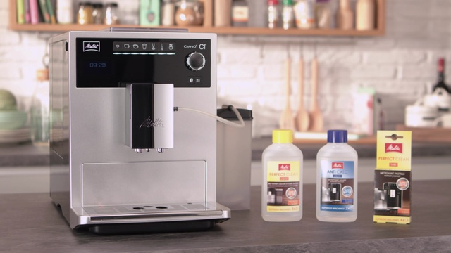 Melitta - Caffeo CI - Reinigung & Pflege Video 7