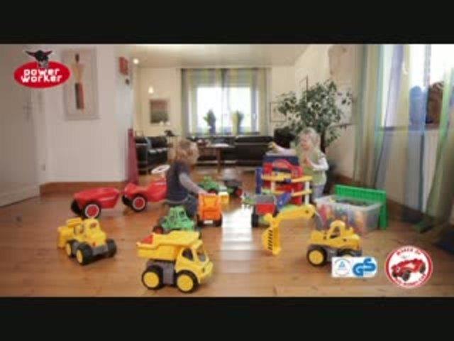 BIG - Power Worker Fahrzeuge Video 6