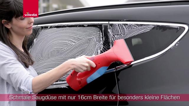 Vileda - Windomatic Fenstersauger +schmale Saugdüse Video 3