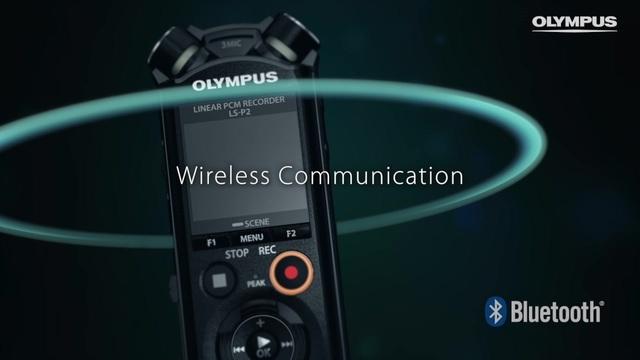 Olympus - Mobiler Audio-Recorder LS-Pocket Video 3