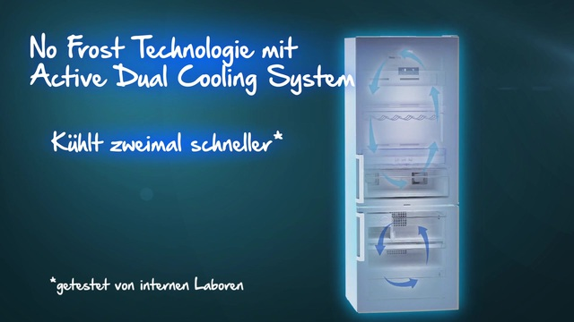 Beko - No Frost Technologie mit Active Dual Cooling Video 3