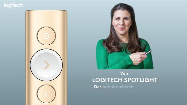 Logitech - Spotlight Kabelloses Präsentationsgerät - Emma Jones Video 14