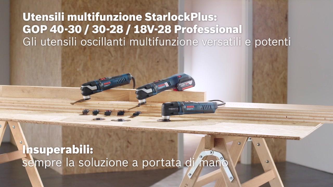 Gop utensile multifunzione bosch professional