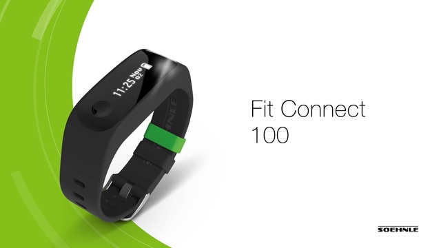 Soehnle - Fit Connect 100 Fitness-Tracker Video 2