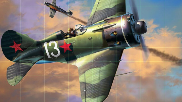 Revell - Polikarpov I-16 type 24 Rata Video 3