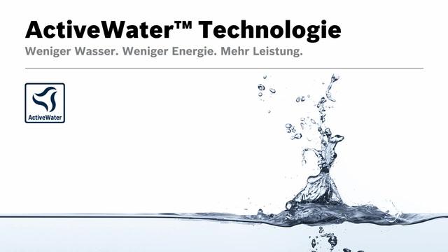 Bosch - ActiveWater Technologie Video 8
