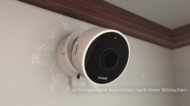 D-Link - DCS-8100LH HD 180° Wi-Fi Camera Video 3
