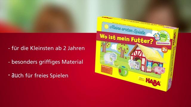 HABA Meine ersten Spiele (deutsch)